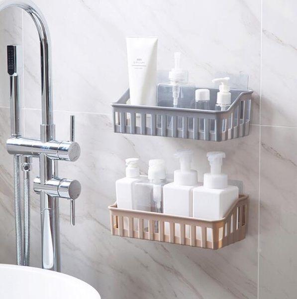 【TT】廚房收納 可以承受3公斤 免打孔 衛浴 無痕 置物架 收納架 壁掛 收納籃 浴室 廁所 書房