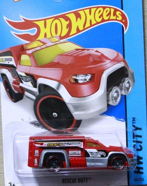 Hot WHEELS 風火輪【新風火輪 046 RESCUE DUTY 】