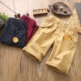 男童夏季休閒短褲純棉五分褲子兒童寬鬆運動工裝褲薄款馬褲褲衩潮
