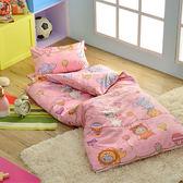 義大利Fancy Belle X DreamfulCat《夢想馬戲團-粉》單人防蹣抗菌兒童睡袋