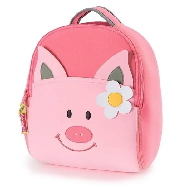 【美國Dabbawalla】瓦拉包 - 粉紅豬後背包