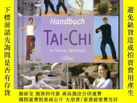 二手書博民逛書店Handbuch罕見TAI-CHI 英文版 英文精裝 彩版Y70