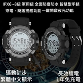 【Love Shop】軍用外型 防水防塵藍牙手錶 運動手錶/運動健康監測運動手環/藍牙手環