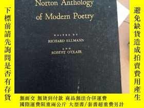 二手書博民逛書店the罕見norton anthology of moden poetry 諾頓現代詩集Y14530 出