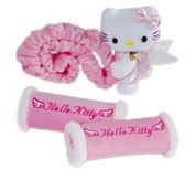 【卡漫城】 Hello Kitty 後視鏡 把手護套 粉色 ㊣版 可伸縮 後照鏡 絨毛 娃娃 泰迪熊  汽車飾品