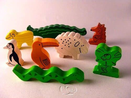 『高雄龐奇桌遊』 動物疊疊樂 animal upon animal 繁體中文版 ★正版桌上遊戲專賣店★