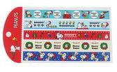 【卡漫城】 Snoopy 耶誕 長條 貼紙 三張一組 ㊣版 史奴比 史努比 聖誕 禮物 卡片 裝飾