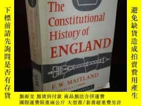 二手書博民逛書店The罕見Constitutional History of E