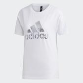 【雙12折後$1180】adidas logo 短袖 短T 休閒 運動 女款 白 FT2891