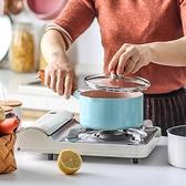 麥飯石小奶鍋不粘鍋寶寶輔食鍋一體家用泡面小鍋迷你湯鍋【輕奢時代】