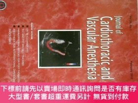 二手書博民逛書店Journal罕見of Cardiothoracic and Vascular Anesthesia 心胸與血管外