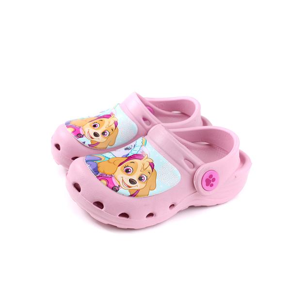 PAW PATROL 涼鞋 花園鞋 粉紅色 中童 童鞋 D93903-140 no021