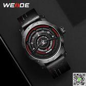 手錶 手錶男學生韓版簡約潮流休閒運動防水電子表石英時尚男士手錶 印象部落
