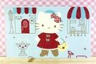 【震撼精品百貨】Hello Kitty 凱蒂貓~kitty大卡片~藍噴水池