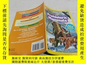 二手書博民逛書店National罕見Geographic Readers: Prehistoric Mammals(國家地理讀者:
