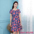 Red House 蕾赫斯-透明花朵蕾絲...