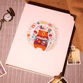 電影票火車票收藏冊飛機門票紀念冊收集3寸5寸插頁式相冊相本相簿 全館八五折