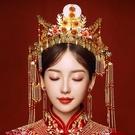 頭飾新娘結婚發飾中式