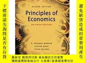 二手書博民逛書店principles罕見of economies 曼昆經濟學原理