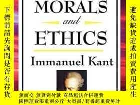 二手書博民逛書店On罕見The Metaphysics Of Morals And EthicsY364682 Immanue