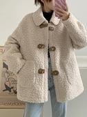 羊羔绒外套 羊羔毛外套女秋冬百搭2021新款韓版寬松復古洋氣休閑加厚毛絨上衣 快速發貨