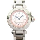 Cartier 卡地亞 Miss Pasha系列粉色面盤石英腕錶 W3140008 27mm 【BRAND OFF】