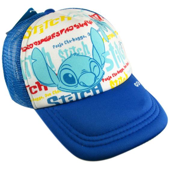 【卡漫城】 Stitch 青少年 帽子 藍色 ㊣版 成人 星際寶貝 史迪奇 遮陽帽 棒球帽 網球帽 網帽 鴨舌帽