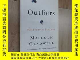 二手書博民逛書店英文書:OUTIIERS罕見THE STORY OF SUCCESS MALCOLM GLADWELL 共309頁