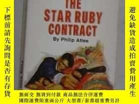 二手書博民逛書店英文原版罕見The Star Ruby Contract by