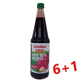 (買6送1) Voelkel 維可 甜菜根薑汁 700ml/瓶
