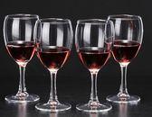 紅酒杯葡萄酒杯高腳杯白酒杯玻璃杯6只裝玻璃紅酒杯套裝 挪威森林