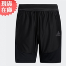 【現貨】Adidas HEAT.RDY 男裝 短褲 訓練 拉鍊口袋 黑【運動世界】GL1677