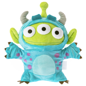 HOLA 迪士尼系列 三眼怪變裝玩偶系列 毛怪角色款 怪獸電力公司 玩具總動員