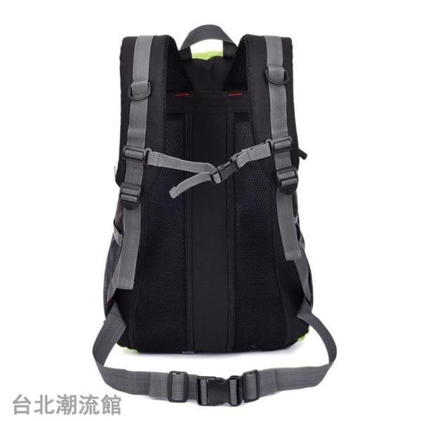 新款男士大容量雙肩包多功能旅行包韓版 女士戶外登山包旅游背包