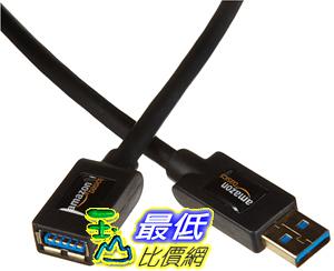 [106美國直購]  AmazonBasics 網線 USB 3.0 Extension Cable - A-Male to A-Female - 6.5 Feet (2 meters)