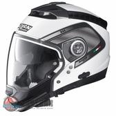 [安信騎士] 義大利 Nolan N44 彩繪 TECH 白 半罩 安全帽 可裝藍芽 內墨片 下巴可拆 四分之三