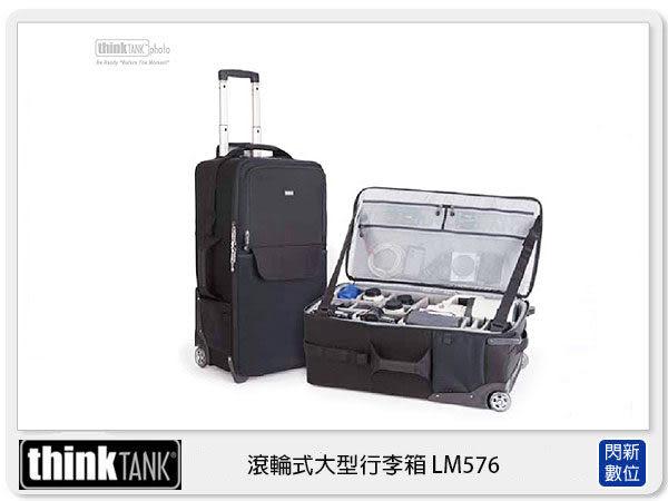 【24期0利率】thinkTank 創意坦克 Logistics Manager 滾輪式大型行李箱 LM576 TTP576