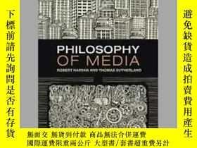 二手書博民逛書店Philosophy罕見of Media: A Short Hi