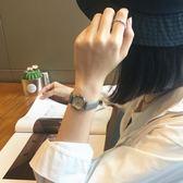 韓版簡約小錶盤復古風文藝女生電子手錶 免運直出