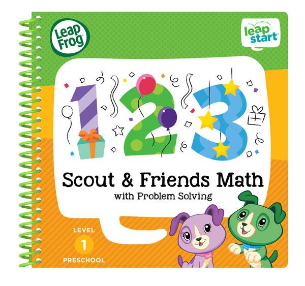 LEAP FROG 跳跳蛙 LeapStart Jr. Books幼兒3-數數123