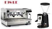 租購Faema半自動咖啡機- Faema E98雙孔營業用咖啡機+磨豆機 (每個月租購只要5000元)-【良鎂】