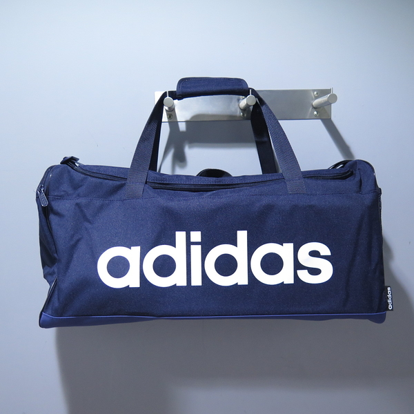 ADIDAS LIN DUFFLE手提包 旅行袋 健身包 FM6744 藍 56 X 28 X 22cm【iSport】