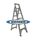 美國Werner穩耐安全鋁梯 DP366AZ 鋁合金兩用梯(梯長1.8m) 梯子 直梯 /台 (出貨後無法退換貨)