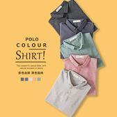 Polo衫短袖男夏季polo衫男士翻領保羅衫潮牌半袖帥氣t恤男 新品特惠
