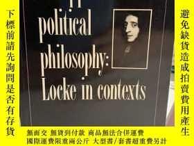 二手書博民逛書店An罕見Approach to Political Philosophy: Locke in Contexts.