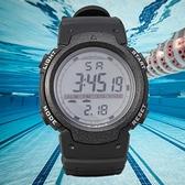 戶外表 新款簡約型戶外運動防水電子表男士多功能時尚大表盤手錶特價 曼慕