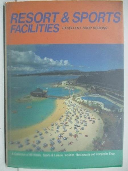 【書寶二手書T8/設計_DVE】Resort & Sports Facilities