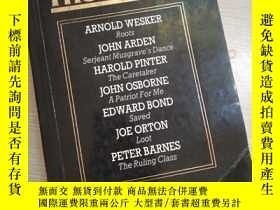 二手書博民逛書店Volume罕見One:The Plays of The Sixties (英文)Y16149