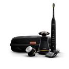 Philips【美國代購】飛利浦 復古電動刮鬍刀和Sonicare無線充電式牙刷二件組S8880/88