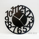 掛鐘掛鐘客廳時尚創意個性時鐘大掛錶靜音現代簡約藝術數字鐘錶一件免運